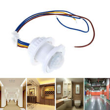 40mm LED PIR Detector Infrared Motion Sensor Switch with Time Delay AdjustabO<w