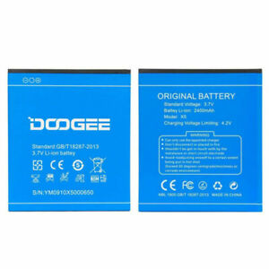 Battery Original DOOGEE For X5, X5 Pro X5S 2400Mah Spare Parts Ions Lithium New