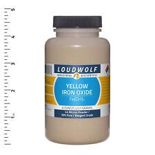 Iron Oxide Yellow 8 Oz Reagent Grade 44 Micron Powder Usa Seller