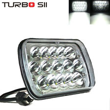 LED Light Bulbs Headlight Crystal Clear Sealed Beam Headlamp Replace HID
