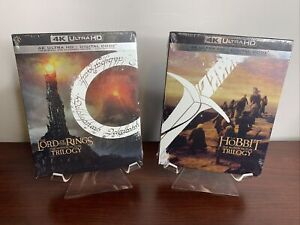 Lord of the Rings / The Hobbit Trilogy Box Set Lot (4K UHD+Digital) Sealed