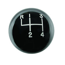 "Hurst 1630103 4 Speed Black Classic Shifter Knob Ball 3/8"" x 16 Thread"