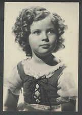 Ca 1965 RPPC* SHIRLEY TEMPLE IN HEIDI 1937 REPRO MINT 6 X 4