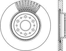 C-TEK Standard Disc Brake Rotor fits 2017-2017 Cadillac XT5  C-TEK BY CENTRIC