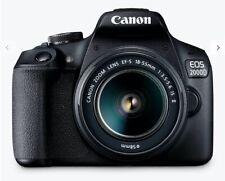 Canon EOS 2000D 24.1MP Digital SLR Camera – with John Lewis receipt