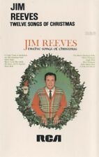 Jim Reeves Music Cassette Twelve Songs of Christmas