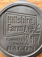 Lodge Cast Iron Advertising Skillet - Hill shire Farms Bacon.