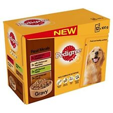 Pedigree Pouch Gravy Real Meals 12x100g