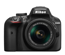 Cámara SLR Nikon D3400 D con AF-P 18-55mm VR Kit de Lente Negro (nuevo)