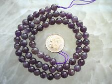 Quality Genuine Amethyst Round Bead 6mm 65 Beads US Seller