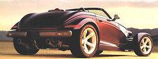 Big 1997 Plymouth PROWLER Brochure / Catalog