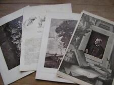 Charles JACQUE cliché photoglyptie de Galerie Contemporaine 1880