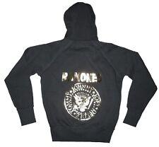 AMPLIFIED THE RAMONES Hey Ho Let's Go You Vintage Sweat Shirt Zip Hoodie Jacke L