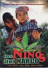 Los Ninos Del Narco 2012 DVD NEW Luis Gatica Carlos Cardan Movimiento Alterado
