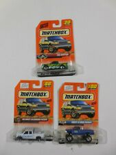 LOT of 3 Matchbox Chevy Trucks Silverado - K-1500 _ The Buster