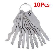 10PCS Emergency Car Opening Kit 10pcs Access Door Easy Tool Keys Auto Locks Kits