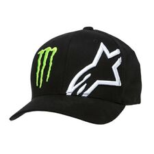 New Alpinestars Monster Energy Corp Hat Black Large/X-Large