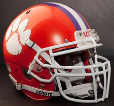 *CUSTOM* CLEMSON TIGERSNCAA Schutt XP Authentic GAMEDAY Football Helmet