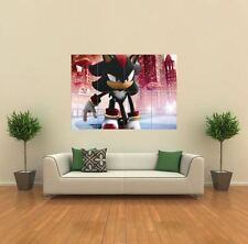 SONIC THE HEDGEHOG SHADOW NEW GIANT LARGE ART PRINT POSTER PICTURE WALL G075