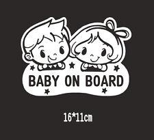 BABY ON BOARD Vinyl Sticker Window Car Bumper Generic Sticke Child Safety Sign