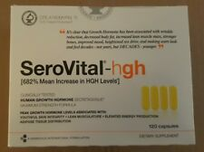 New Sealed Box - SeroVital-hgh 120 Capsules Dietary Supplement