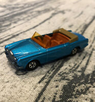 MATCHBOX SUPERFAST ROLLS-ROYCE SILVER SHADOW COUPE, No 69; 1969 no box; mint con