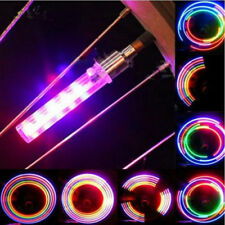2x 5 LED Flash Light Bicycle Motorcycle Car Bike Tyre Tire Wheel Valve Lamp &JE