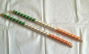 Raas Dandiya Dancing Prop Garba Navratri Hindu Festival Handicrafts wooden Stick
