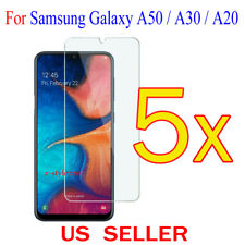 5x Clear Screen Protector Guard Cover Film For Samsung Galaxy A50 / A30 / A20