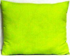 Toddler Pillow on Lime Green 100%Cotton G4 New Handmade