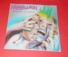 Marillion -- He knows you know / Charting the single --  Single / Rock