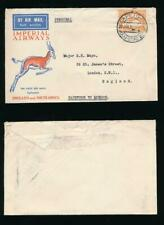 SOUTH AFRICA 1932 AIRMAIL 1/- SINGLE FRANKING IMPERIAL AIRWAYS FIRST FLIGHT