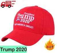Donald Trump 2020 Keep Make America Great ! Cap President Election Hat Red Sj