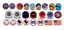 Top Gun Tom Cruise Kawasaki GPZ 900 Screen accurate sticker set  24 PVC Stickers