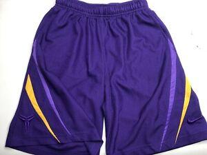 Nike Kobe Bryant Shorts Size S Mens Lakers Colors