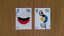 Complete GB used stamp set - 2004 Entente Cordiale Anniversary