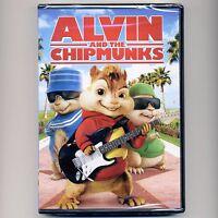 Alvin & the Chipmunks 2007 animated PG family movie new DVD Lee Cross Richardson