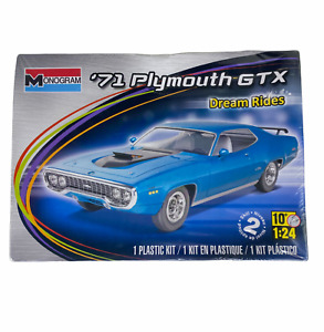 Monogram 1971 Plymouth GTX Dream Rides 1:24 Car Model Kit