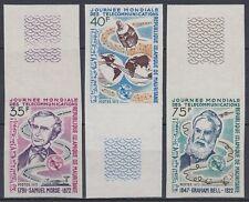 Mauretanien 1972 ** Mi.435/37 U Weltraum Space Espace Telecommunication UIT ITU