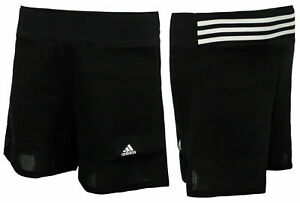 Adidas Icon Womens Boxing Shorts Fitness Training Gym Black S97104
