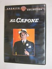 WARNER BROS - ARCHIVE COLLECTION - Al Capone(1959) (DVD, 2009) FREE SHIPPING