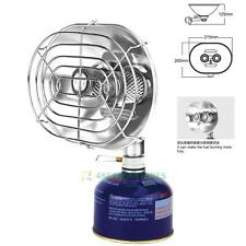 BRS Double Head Burner Heat Gas Stove Infrared Ray Heater Warmer Camping Fishing
