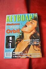 Madonna July 1998 Keyboard Music Vintage Magazine