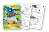 QuackDuck Malbuch - Dschungel Rummel - Finde den Unterschied