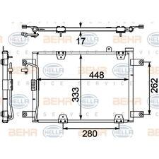ORIGINAL HELLA Klimaanlage Kondensator Suzuki Grand Bj.98- 8FC351303-781