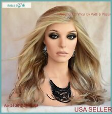 Miles of Style Lace Front Heat Friendly Monopart Wig Raquel Welch Glazed Sand