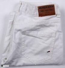 Vaqueros de hombre rectos color principal blanco 100% algodón