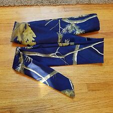 recurve bow sock real tree blue camo archery case