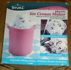 Rival Electric Ice Cream Maker 8704R 4Quart NEW 2002 Vintage Pink