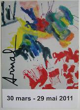 FRANCOIS ARNAL  - Carton d invitation - 2011